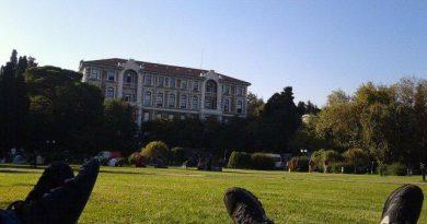Üniversitenin ilk günü