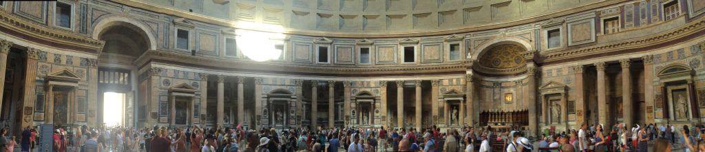 pantheon romada gezilecek yerler