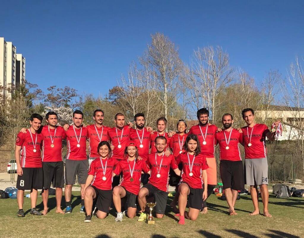 Ultimate Frisbee Takımları