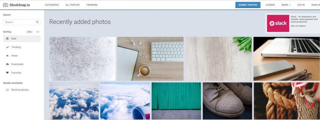 blog görseli seçmek