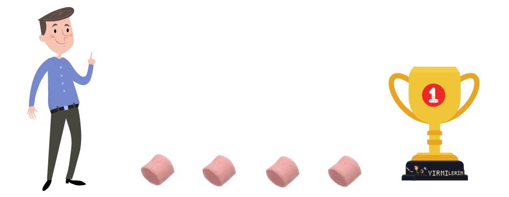 Marshmallow deneyi