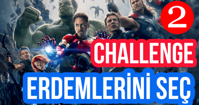 Erdemlerini Seç – Challenge 2
