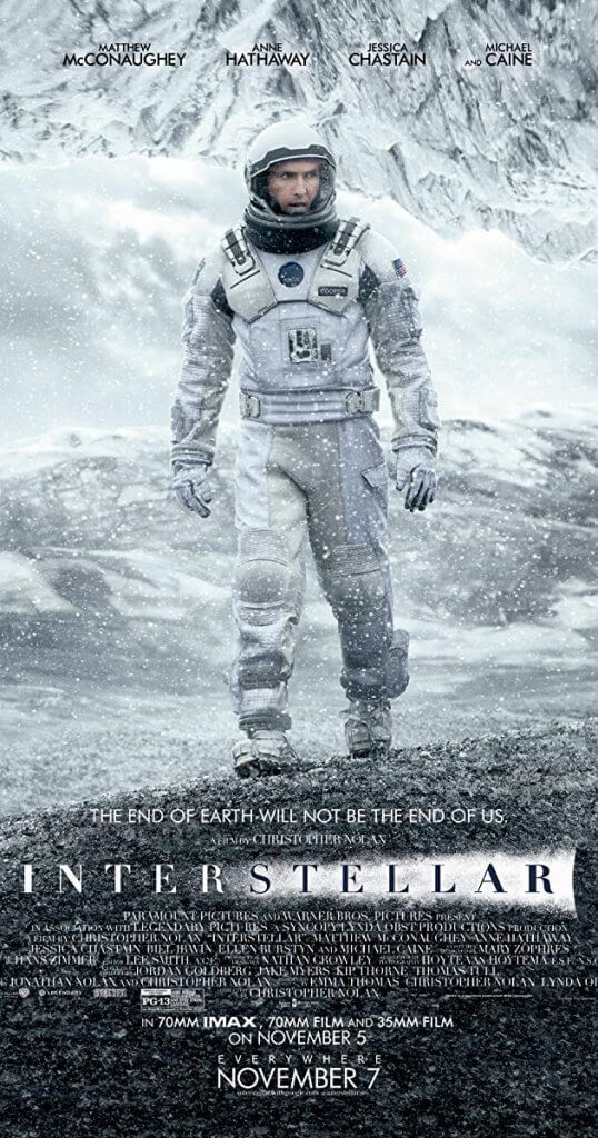 bilim kurgu film önerisi - Interstellar