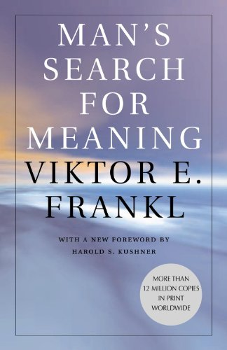 Kitap Önerisi Man's Search for Meaning