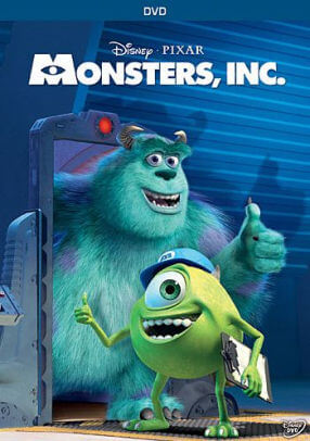 Monsters, Inc animasyon film önerisi