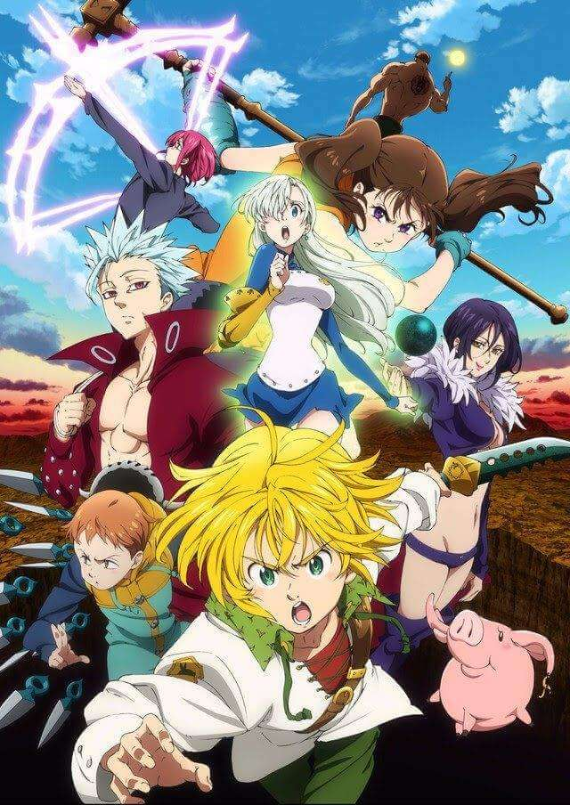 anime önerileri The Seven Deadly Sins