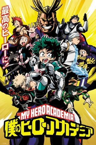 anime önerisi My Hero Academia