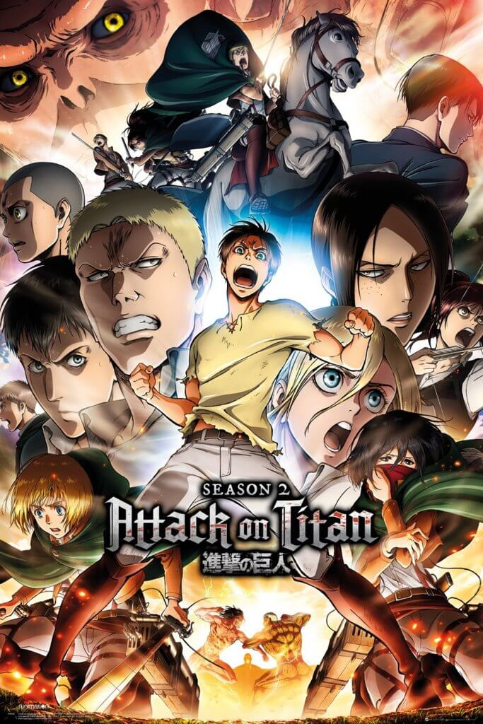 attack on titan anime tavsiyesi