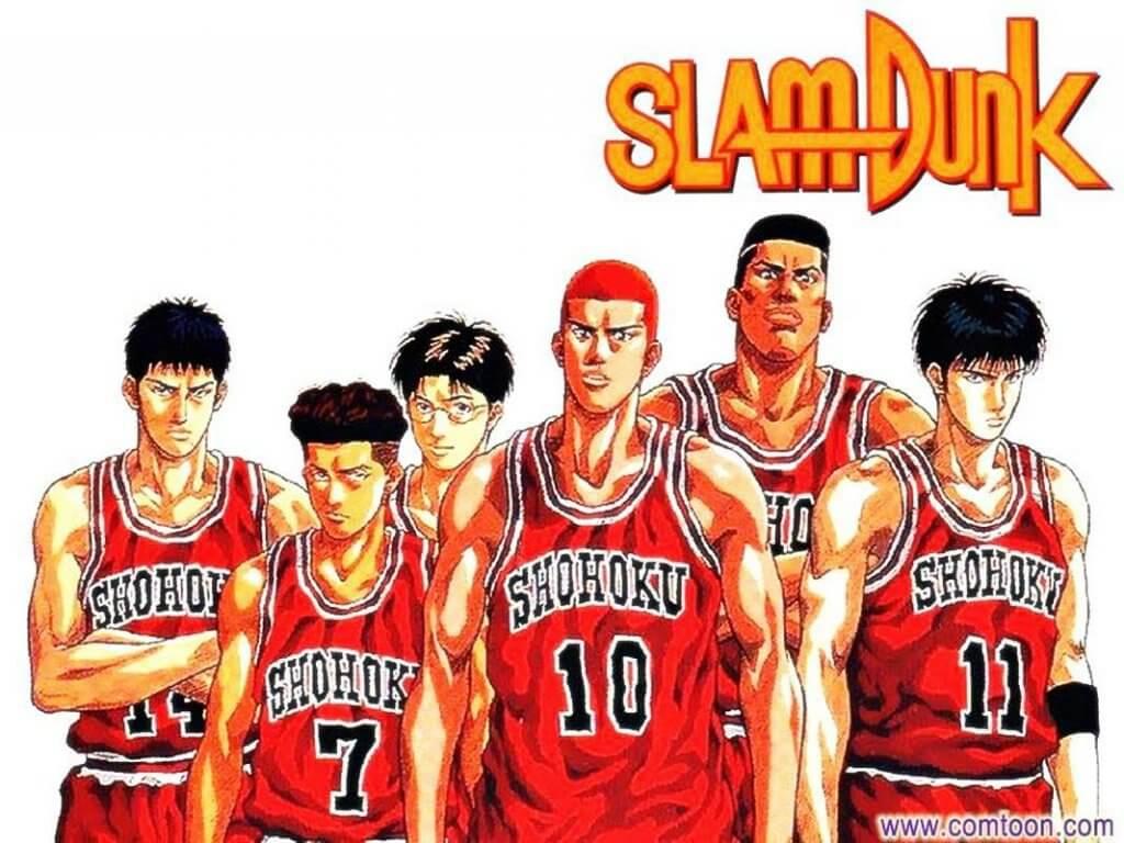 spor animeleri Slam Dunk