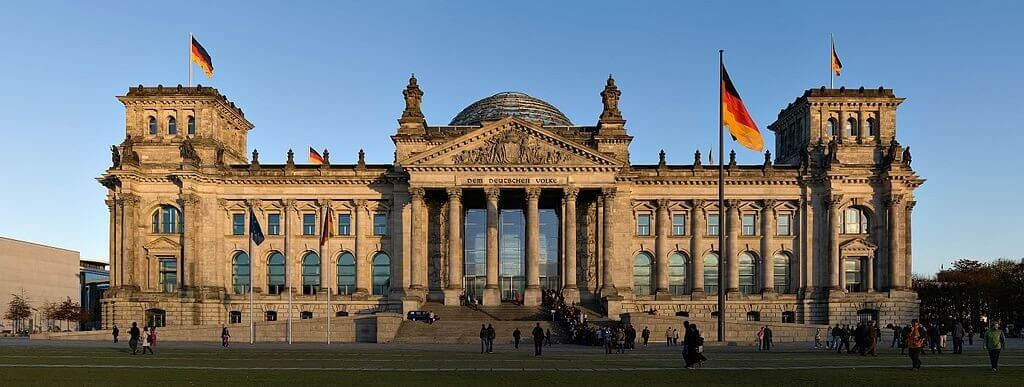 Reichstag Dome building