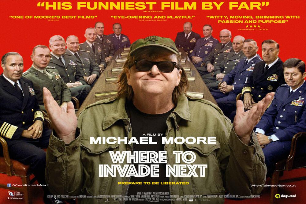 where to invade next belgeseli